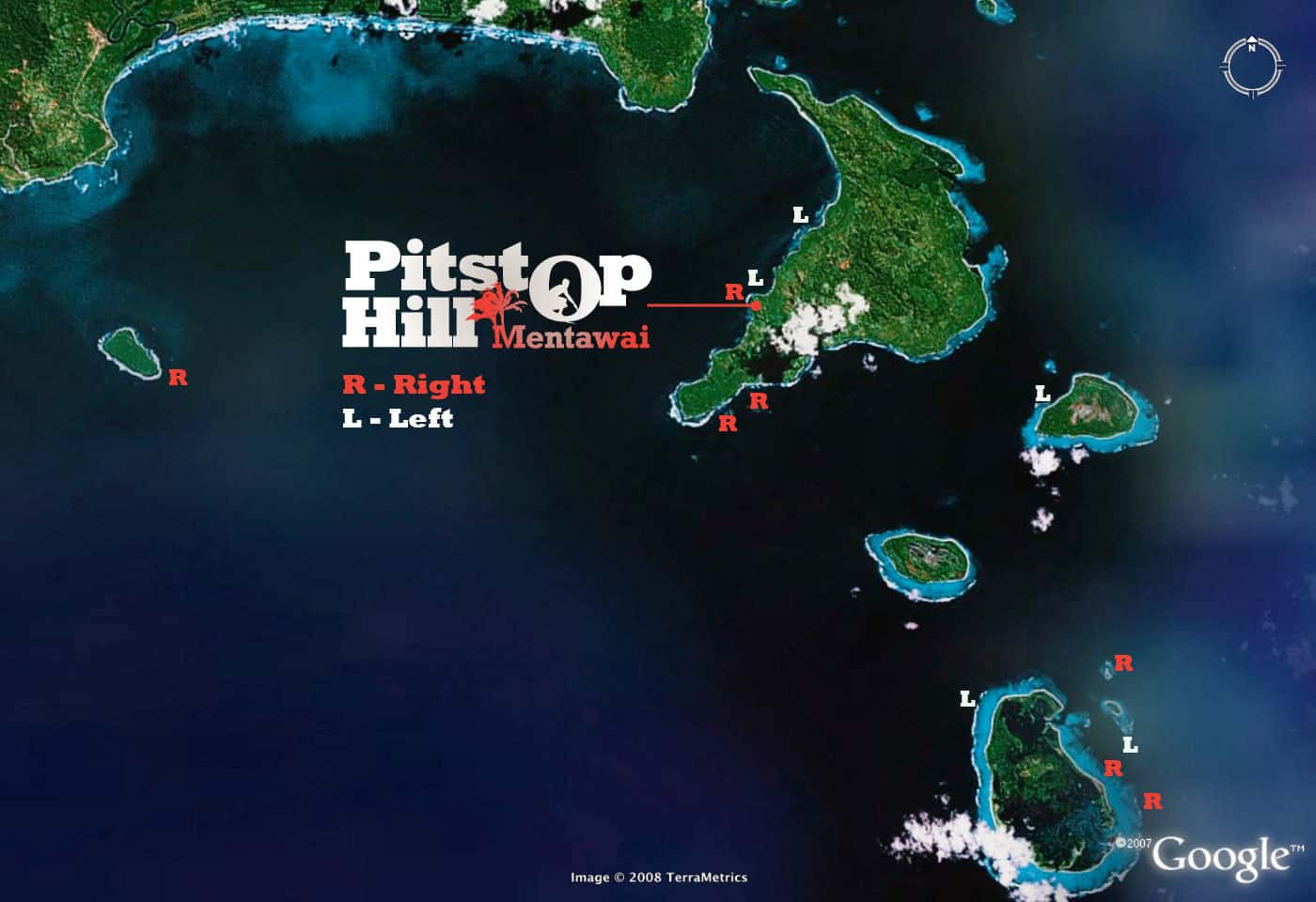Pitstop Hill - Surf Map